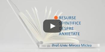 Clip informații corecte despre anxietate